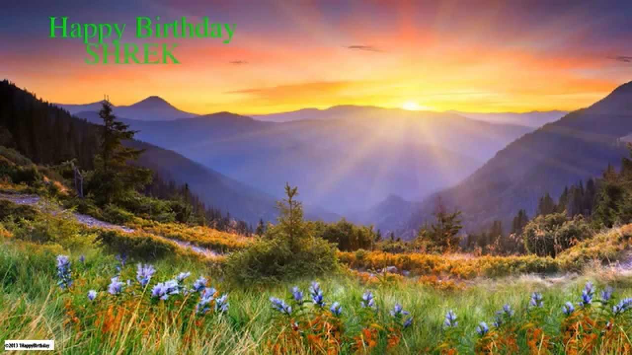Shrek Happy Birthday